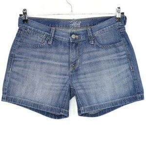 Old Navy The Flirt Jean Shorts 6 Distressed
